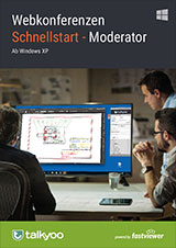 Webconference PDF Download - quick start instructions for moderators - Windows