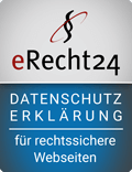 eRecht24 Seal Privacy Policy