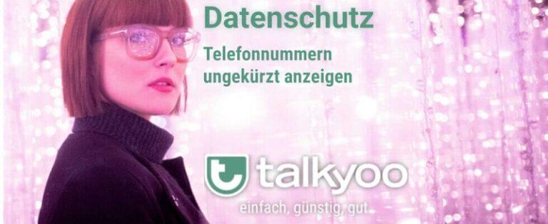 Datenschutz - So können Sie vollständige Rufnummern der Teilnehmer der Telefonkonferenz sehen